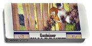 Vintage Poster - Gasteiner Waldduft Portable Battery Charger