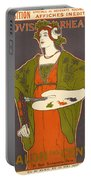 Vintage Poster - Louis Rhead Portable Battery Charger