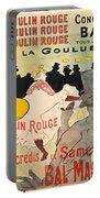 Vintage Poster - Toulouse Lautrec Portable Battery Charger
