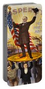 Vintage Poster - William Mckinley Portable Battery Charger