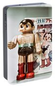 Vintage Robot Astro Boy Portable Battery Charger