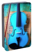 Violin Blues Portable Battery Charger