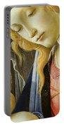 Virgin And Child Renaissance Catholic Art Portable Battery Charger