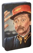 Vlasta Burian, Portrait Of Czechoslovak Actor Portable Battery Charger