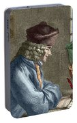Voltaire In His Office In Vernay Portable Battery Charger