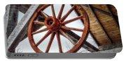 Wagon Wheel Portable Battery Charger