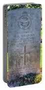 War Grave Of Flying Officer F A Sullivan  Portable Battery Charger