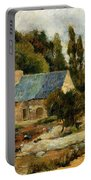 Washerwomen At Pont Aven 1886 Portable Battery Charger