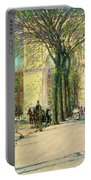 Washington Arch, Spring - Digital Remastered Edition Portable Battery Charger