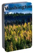 Washington - Gifford Pinchot National Forest Portable Battery Charger