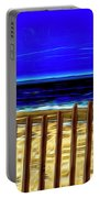 Watchin' The Tide Roll, Away Portable Battery Charger by Paul Wear