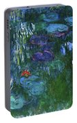 Water Lilies 1918 - Digital Remastered Edition Portable Battery Charger