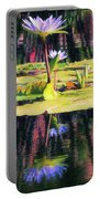 Water Lily 12 Portable Battery Charger
