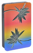 Water Lily Duo Two Portable Battery Charger