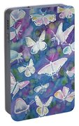 Watercolor - Butterfly Design Portable Battery Charger