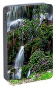 Waterfalls At Seven Star Park Portable Battery Charger