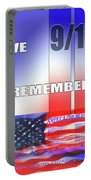We Remember 9/11 Portable Battery Charger
