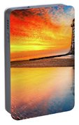 Welsh Lighthouse Sunset Portable Battery Charger