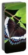 White Admiral Butterfly Portable Battery Charger