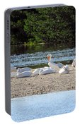 White Pelican Rest Portable Battery Charger