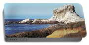 The White Rocks Of Piedras Blancas Portable Battery Charger