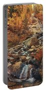Whitney Portal Cascades Portable Battery Charger by John Hight