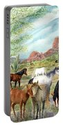 Wild And Free Forever Portable Battery Charger