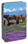 Wild Horse Heaven Portable Battery Charger