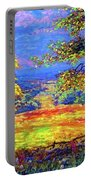 Wildflower Fields Portable Battery Charger