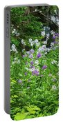 Wildflowers On Green's Hills Portable Battery Charger