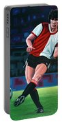 Willem Van Hanegem Painting Portable Battery Charger