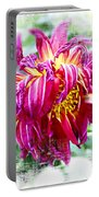 Wilted Dahlia. Portable Battery Charger