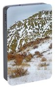 Winter Badlands Portable Battery Charger