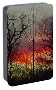 Winter Evening Portable Battery Charger