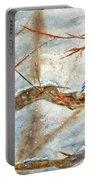 Winter Tree Hugger Portable Battery Charger
