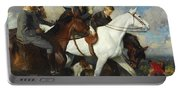 With The York And Ainsty, The Children Of Mr Edward Lycett Green Portable Battery Charger