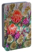 Withering Beauty Portable Battery Charger