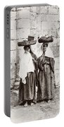 Women From Siloan In Jerusalem Portable Battery Charger