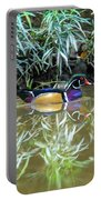 Wood Duck Reflection Portable Battery Charger