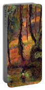Wooded Path 1884 Portable Battery Charger