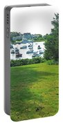 Wychmere Harbor Cape Cod Morning Portable Battery Charger