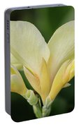 Yellow Canna Lily Portable Battery Charger