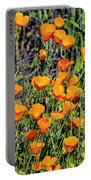 Yellow Poppies Of California Portable Battery Charger