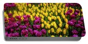 Yellow Star Tulips Portable Battery Charger