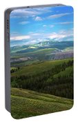 Yellow Stone National Park Where Bears Live  Portable Battery Charger