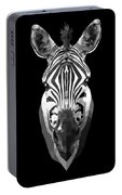 Zebra's Face Portable Battery Charger