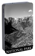 Zion Nationa Park Utah Portable Battery Charger