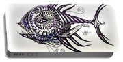 Asynchronous Hate Fish Portable Battery Charger