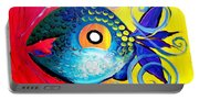 Blue Tongued Happy Boy Portable Battery Charger