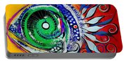 Happy Fish Compliments Transcending Time Portable Battery Charger